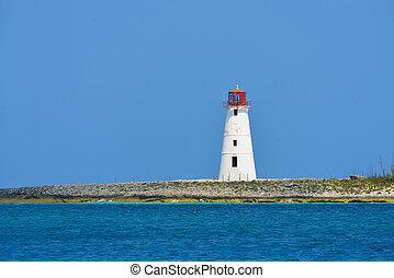 Lighthouse in Nassau - Bahamas