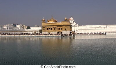 sikh Golden temple in Amritsar, Punjab,India
