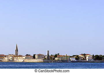 View of Porec, Croatia