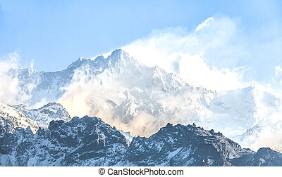 Kangchenjunga is the third highest mountain in the world It...