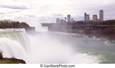 niagara falls, usa and canada