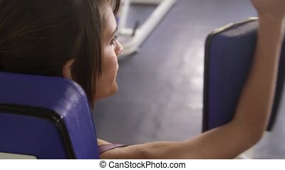 Woman, sport, girl, teen training - Woman, sports and...