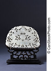 Ming Dynasty White Jade - A well carved piece of chinese art...
