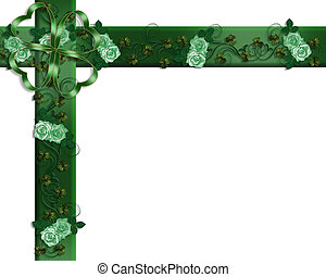 St Patricks Day Border Irish - Card, background, border,...