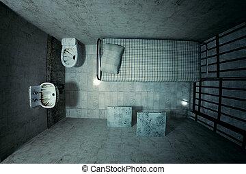 prison, cellule