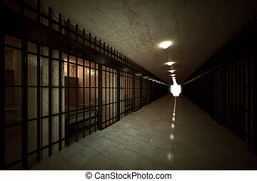 prisión, célula