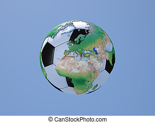 Soccerball Europe and Africa