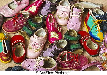 Shoes. - Children s shoes.