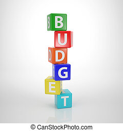 Budget Tower - Series Words out of Letterdices