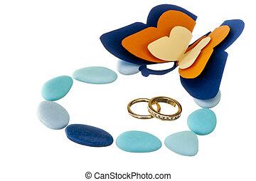 favori, anello, matrimoni, matrimonio