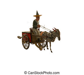 anticaglia, cavallo, carrozzino
