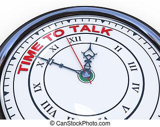 3D, reloj, -, tiempo, charla