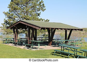 Picnic Shelter at State Park