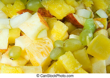 Fruit salad - Fresh self made fruit salad