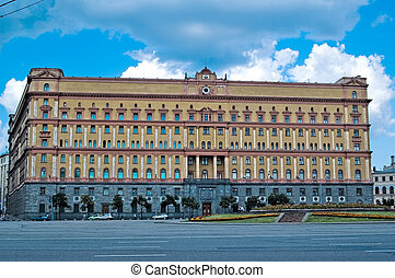 Building of russian FSB - Federal Security Bureau at...
