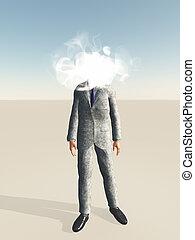 Head in cloud