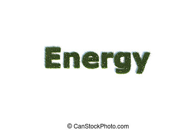 Energy out of realistic Grass