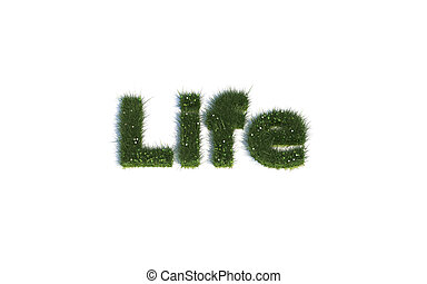 Life out of realistic Grass