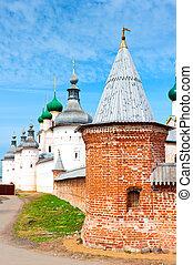 Rostov Kremlin -  view of Rostov Kremlin, Russia