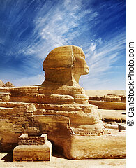 Sphinx - Great Sphinx of Egypt, ancient architecture