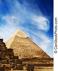Pyramids in Egypt  - The Pyramids in Giza, Egypt