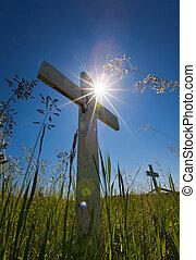 墳墓, 太陽, 閃耀