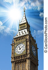 Big Ben, The Tower Clock in London