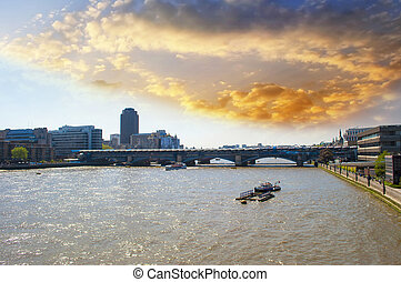 Blackfriars Railway Bridge, London