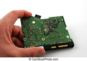 Electronic board - Stock pictures of an electronic board...
