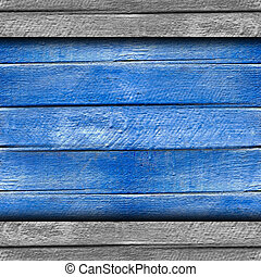 texture wooden fence old blue background your message...