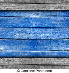 textura, de madera, cerca, viejo, azul, Plano de fondo, su,...