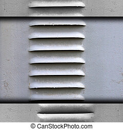 ventilation grille texture iron gray wallpaper