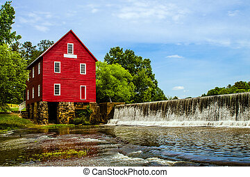 Starrs Mill near Atlanta, GA - Starrs Mill, a historic...
