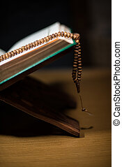 pages of holy koran and rosary - pages of holy koran rosary...