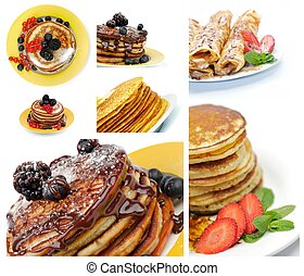 Collection of Pancakes