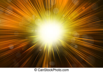 Bright background - Bright blast of light background