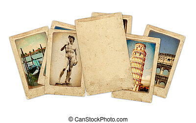 Memories of Italy Collection of vintage cards