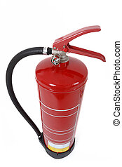 top view of fire extinguisher