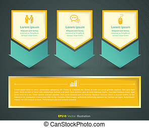Vector concept for project - vector business concepts /...