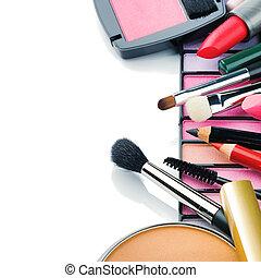 productos, colorido, maquillaje