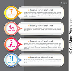 baner vector for concept - vector business concepts element...