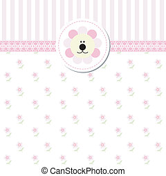 New Baby Shower Invitation Card
