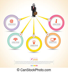 circle Vector business concept - vector business concepts /...