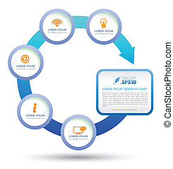 circle Vector business concept - vector business concepts...