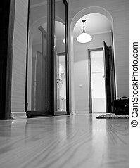 Apartment interior view