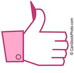 I like it - femal - pink