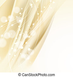 abstract wavy background with sparkles
