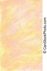 Background in soft pink and yellow