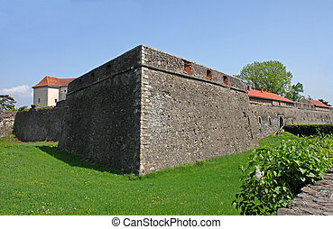 walls of castle