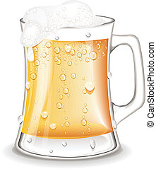 Pint Beer vector